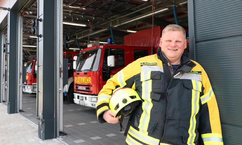 Persönliches Ehrenamt bei der Feuerwehr